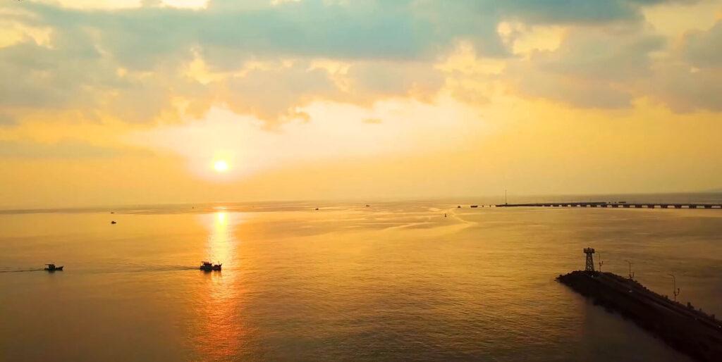 Hoàng Hôn tại Dinh Cậu Phú Quốc